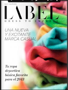 2013 Label Catalogue Spain