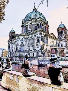 Catedral ,Buscando tendencias en Berlín.