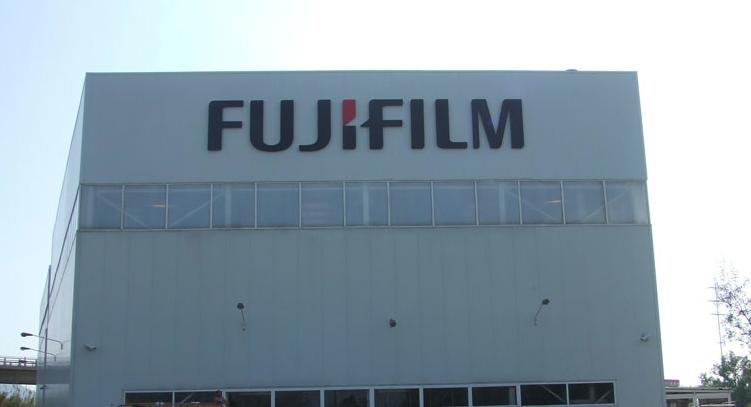 Fujiifilm Letras recortadas 3D