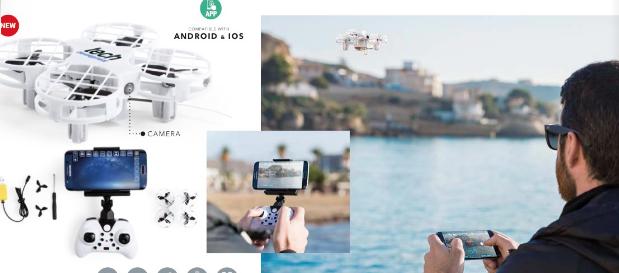 Publicitariamente ...Cámaras de acción y drones.