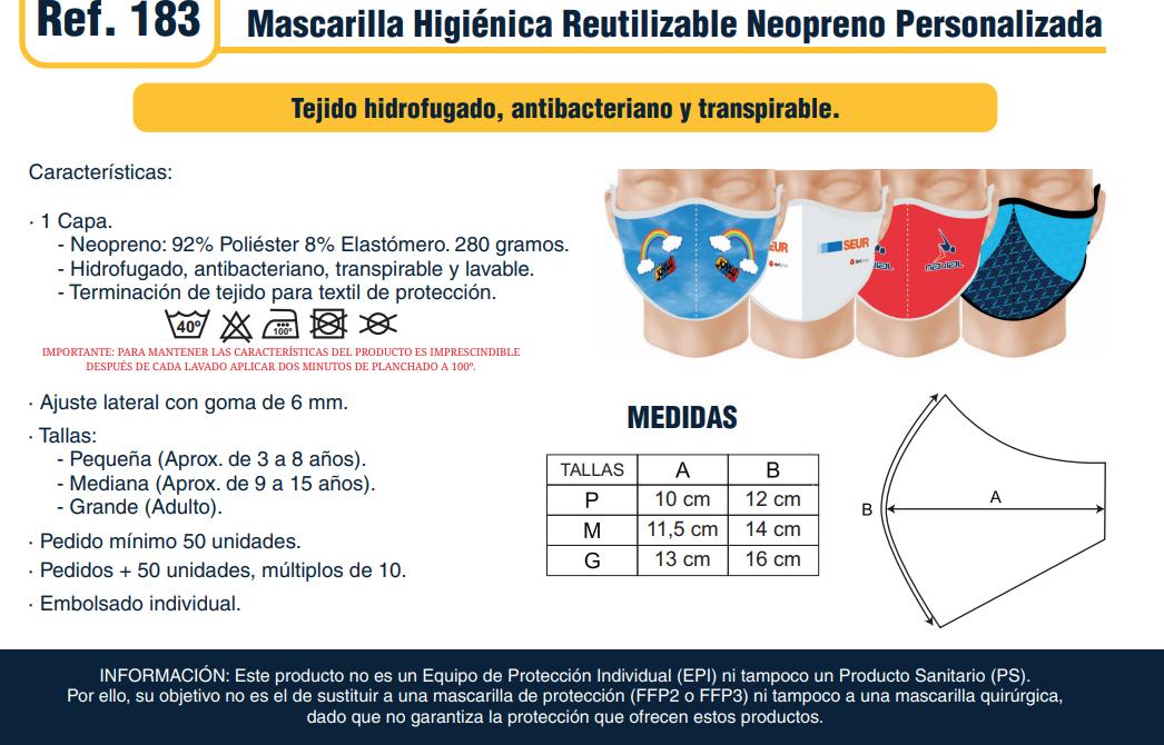 Tapacuellos (braga) antiCOVID